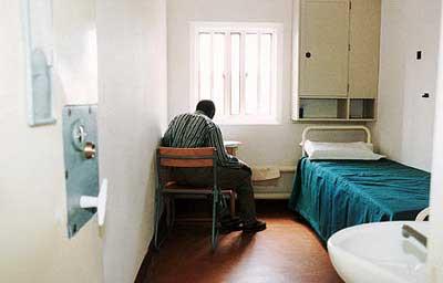 监狱内狭小的空间