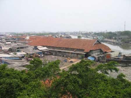 雅加达最早的海港Sunda Kelapa,数百年前华侨从这里登岸,给爪哇岛带来繁荣