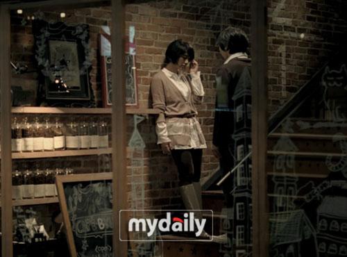 尹恩惠在咖啡店