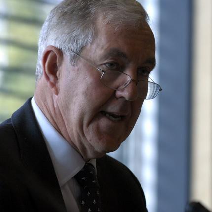 国际板球协会反腐败和安全事务主席康顿 来源:IOC