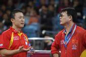 图文:马琳4-1马龙晋级男单决赛 马琳有所疑惑