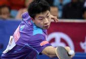 图文:马琳4-1马龙晋级男单决赛 马龙开始抢攻
