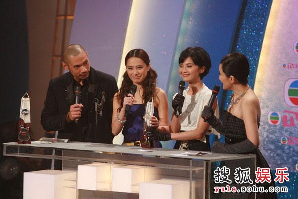 图:TVB金曲榜现场图片 Twins获最佳组合金奖