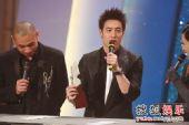 图:TVB金曲榜颁奖典礼现场 TVB8金曲金奖-潘玮柏《玩酷》