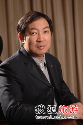 凯莱酒店集团市场销售副总裁王家杰先生