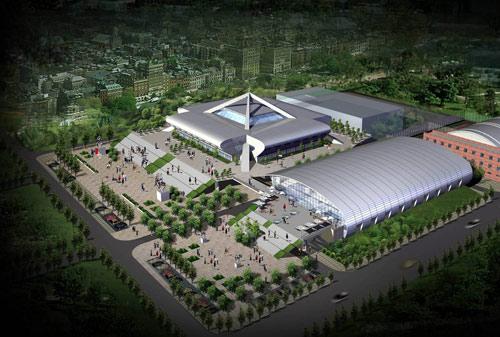 图文:北航体育馆改造竣工 外观效果图