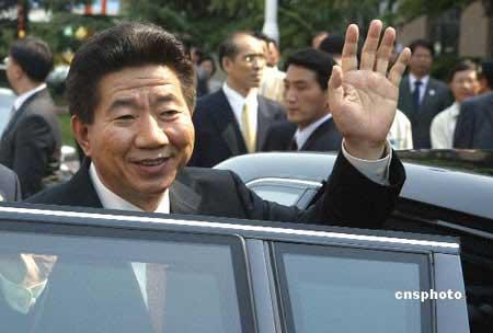 资料图:韩国总统卢武铉 中新社发 毛建军 摄