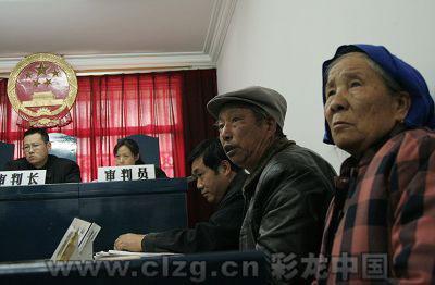 53名认祖宗的村民中,年龄最大的74岁,最小的9岁。实习生张玉杰/摄