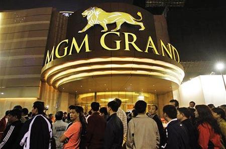 12月18日,澳门美高梅金殿MGM在新口岸隆重开业。