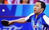 图文:[乒乓球]男团3-0韩国夺冠 赵彦来回球