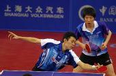 图文:[乒乓球]男团3-0韩国夺冠 李廷佑搓球
