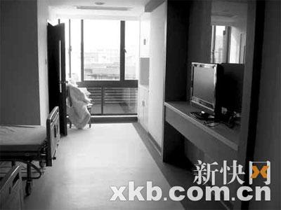 华瑞医院的新病房有如宾馆。
