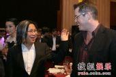 图:07《综艺》盛典 陈可辛与CAA中国区总经理