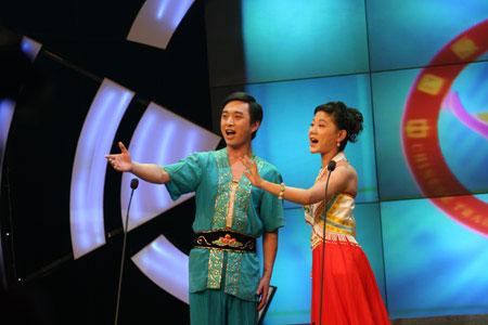 图文:2007中国原生民歌大赛安徽五河民间小调