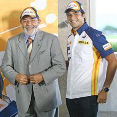 巴西总统接见小皮奎特