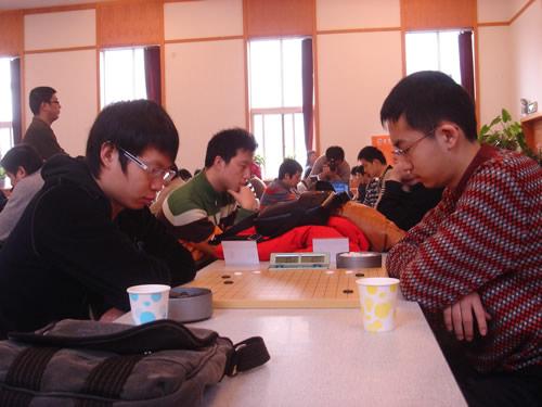 图文:[围棋]第七届招行杯首轮 刘星对阵孙力