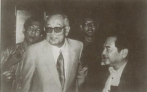 黑泽明与胡金铨,92年亚洲两位大师级导演在东京会面。