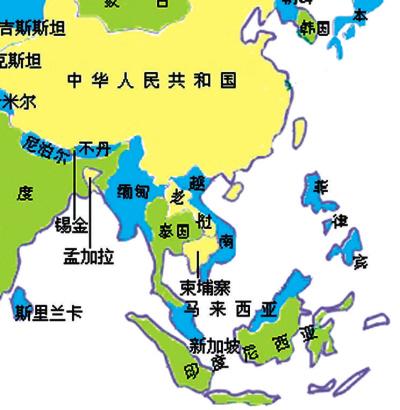 东南亚国家_世界原油主要分布地区(组图)