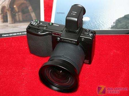 千万像素 24mm广角 理光GX100套机上市