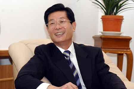 中国驻俄罗斯大使刘古昌向旅俄华侨华人祝贺新年