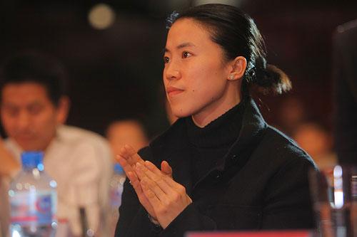 运动员代表王楠(摄影/程宫)