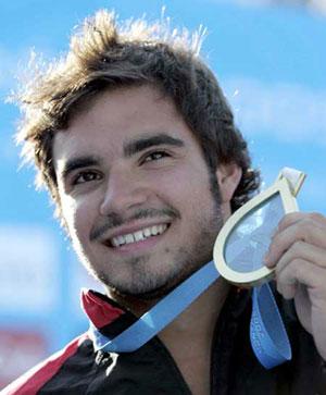 加拿大跳水世界冠军德斯帕蒂(资料图)