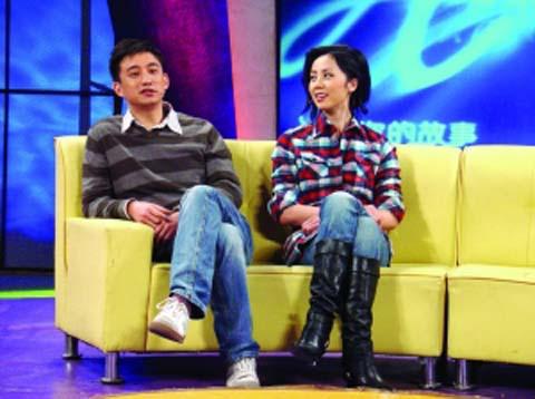 黄磊与孙莉夫妇