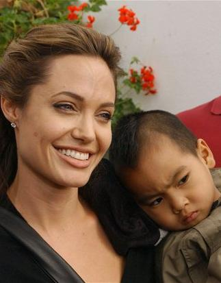 朱莉是07年人道主义明星的典范