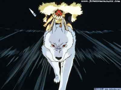 宫崎骏作品:《幽灵公主》图片 4