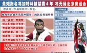 图文:加特林被禁赛4年 奥运冠军陷兴奋剂危机