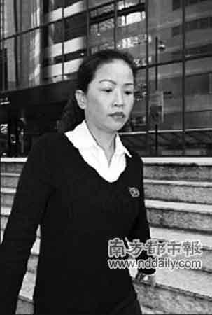 37岁的许荣勒索高官×先生两项罪名成立。文汇摄(资料图片)
