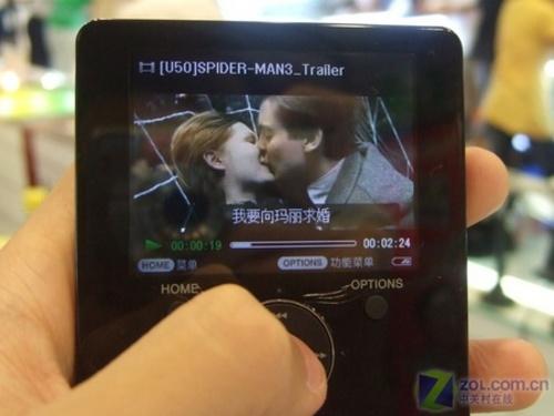 个性时尚演绎视频 索尼MP4跌破千元