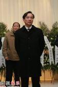 孙道临追悼会 上影集团总裁任仲伦到场送别