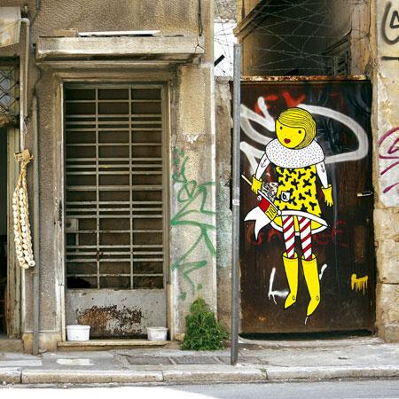 B. STREET ART