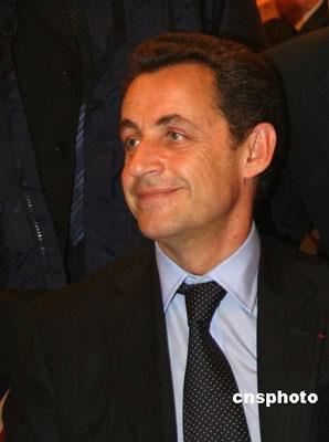 法国第五共和国第六任总统尼古拉-萨科奇(资料照片)。 中新社发 钟诚 摄