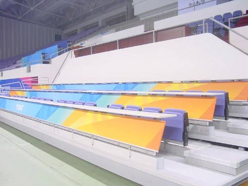 组图:好运北京手球赛主场奥体中心体育馆越野赛自愿者图片