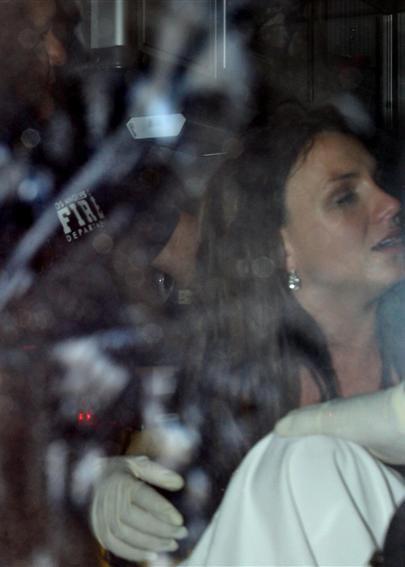 布兰妮与前夫争子被送医院