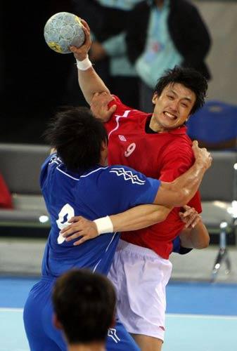 北京 平广东/图文:手球邀请赛北京平广东拥抱第一比赛第二