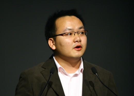 索尼公司杨健先生讲解α200产品