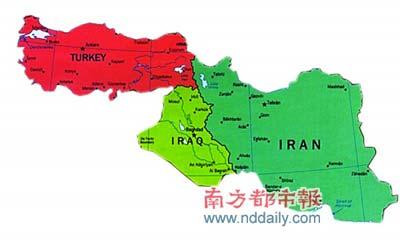 伊朗,伊拉克三国