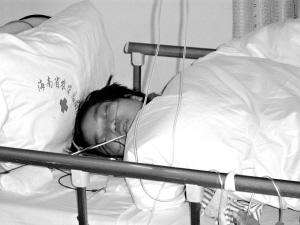 史道红捐献的肾脏已经植入何一文的体内。