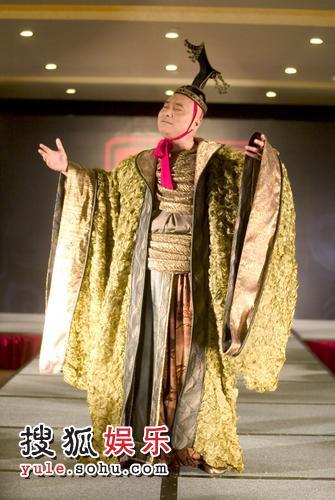 陈佩斯首次以帝王形象登场