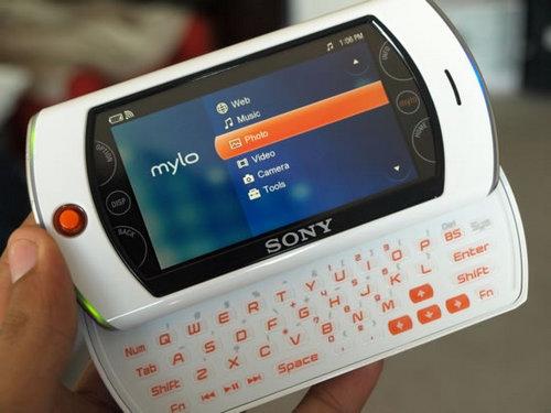 索尼Mylo 2规格正式曝光 采用3.5英寸屏