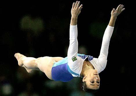 巴西美女热吉晋身为程菲奥运夺冠