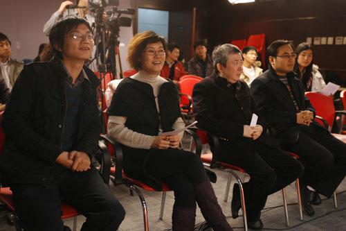 """图:""""搜狐娱乐2008电影盛典""""启动发布会"""