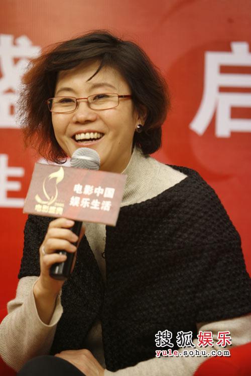 搜狐娱乐2008电影盛典 盛典评委会主席李少红2