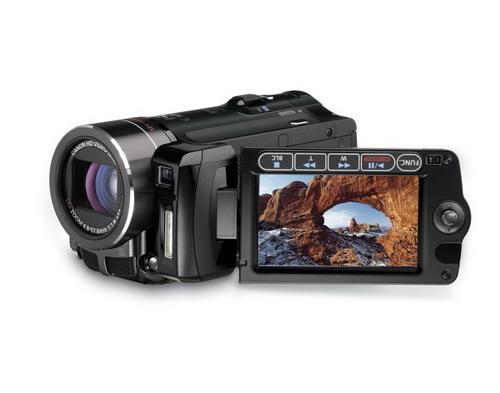 图:Vixia HF10高清摄像机