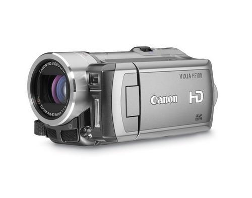 图:Vixia HF100高清摄像机