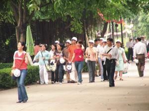 自2003年国家将旅游业定为新的经济增长点后,各地便纷纷开发旅游业。时报记者黄亦民摄