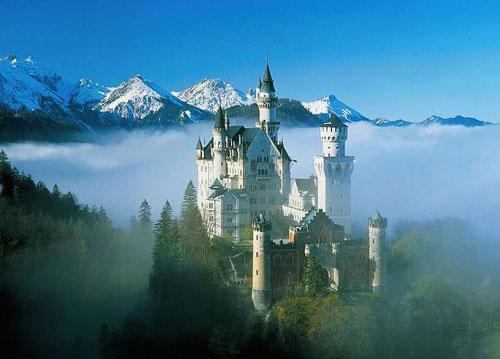 第1名——德国新天鹅城堡